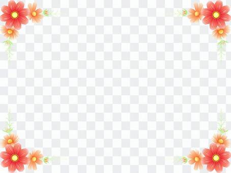 秋向け・コスモスのフレーム14