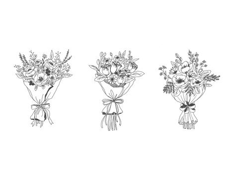 花束 x 3