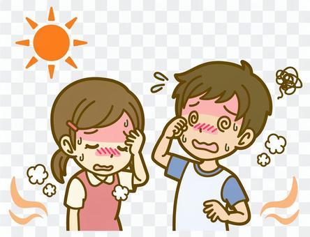 男女(兒童):A_heatstroke 01FS