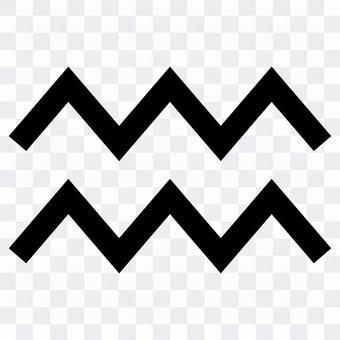 Aquarius mark icon