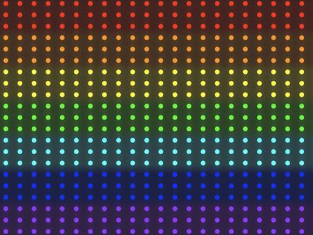 彩虹照明圖案背景: 水平