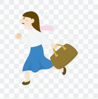 Travel women · Run