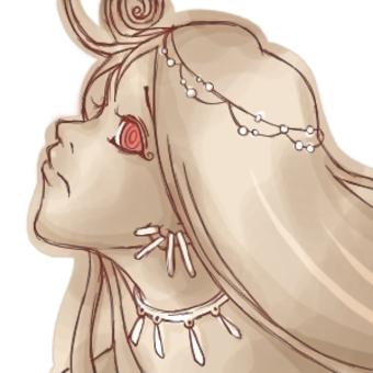 Princess of a foreign country Sepia