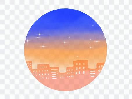 黃昏之城(圓形)
