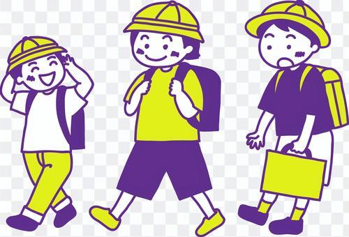 小学生の登下校