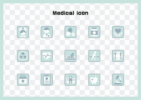 醫療/護理/藥學/醫療技術圖標