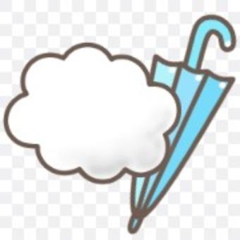 天氣天氣預報陰雨傘