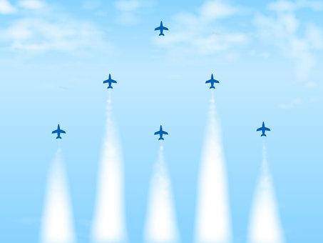 藍色衝動的插圖