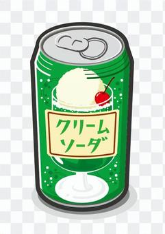 Cream soda can
