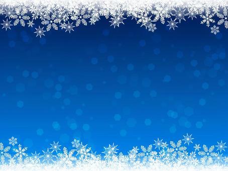 雪·水晶·冬天·背景·寒冷