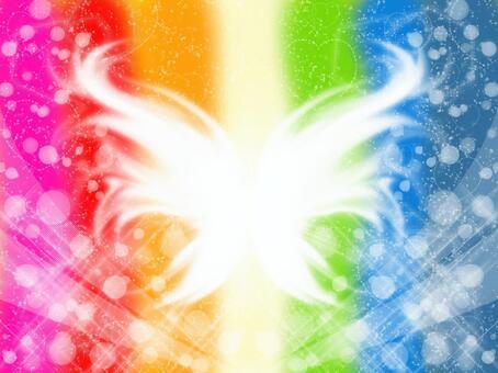 彩虹色天使·蝴蝶