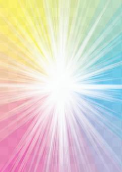迴光豎立_H彩虹