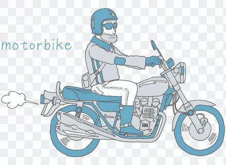 叔叔和自行車