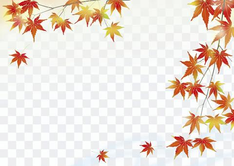 Kinu秋天的山溪_水平的大小