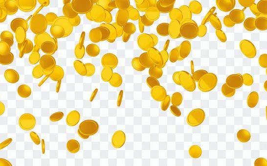 硬幣從天上掉下來