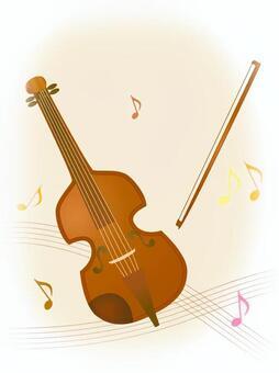 Violin Vertical size