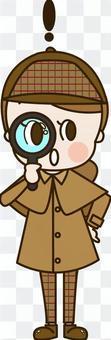 偵探年輕女子發現(偵探8)