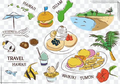ハワイ グアム バリ リゾート 海外旅行