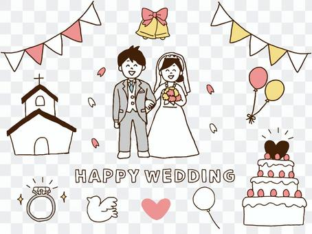 婚禮套裝(簡單)
