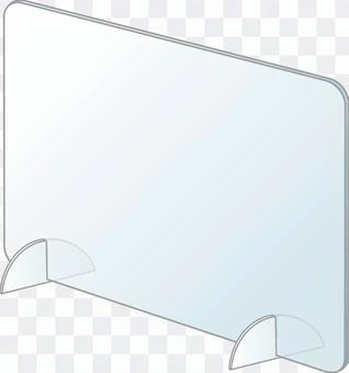 卓上アクリルパーテーション3(間仕切)