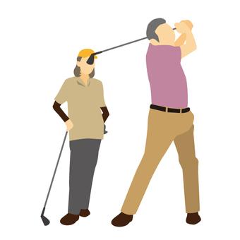 Golf on holidays