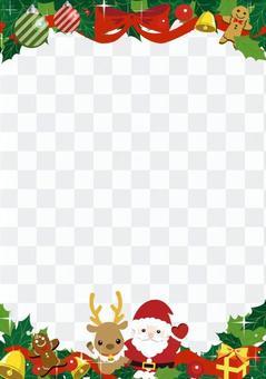 Christmas card length