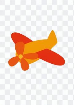 Airplane (Orange)