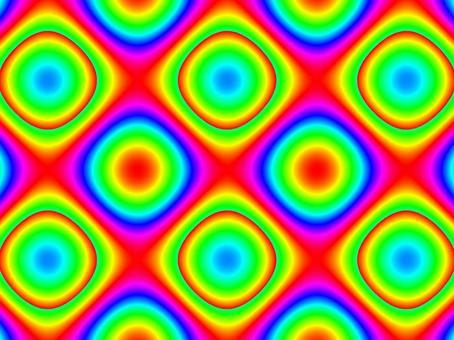 具有漸變的抽象幾何圖案