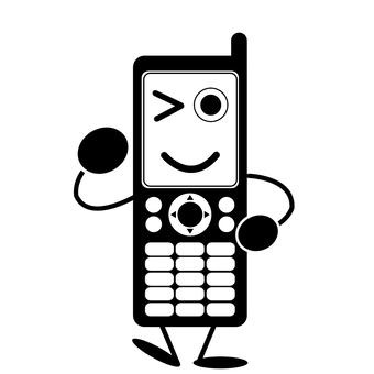 充滿活力的手機