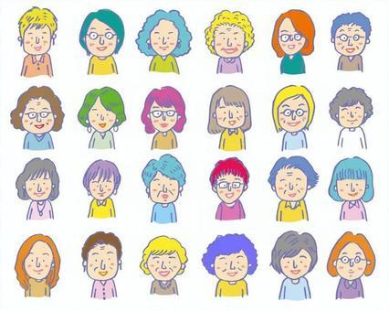 很多 女人 0709