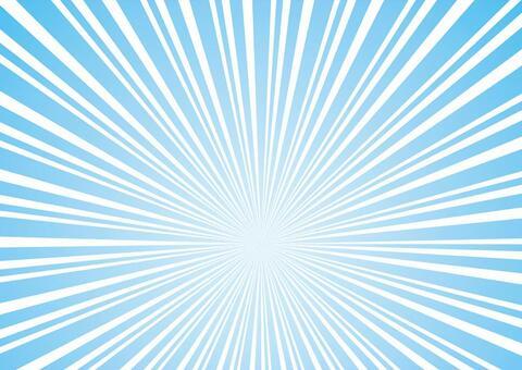 Concentrated line radiation summer color effect line frame border background wallpaper