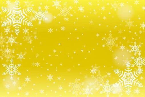 Snow crystal frame 5