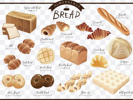 麵包插圖集