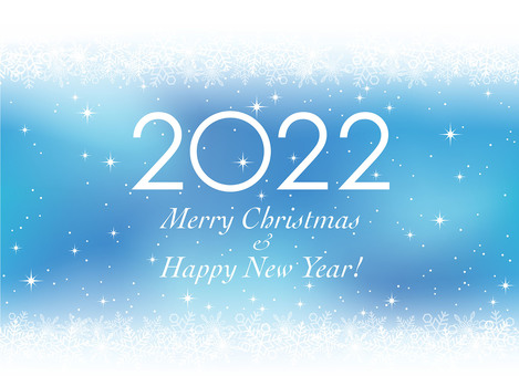 2022 New Year and Christmas Cards