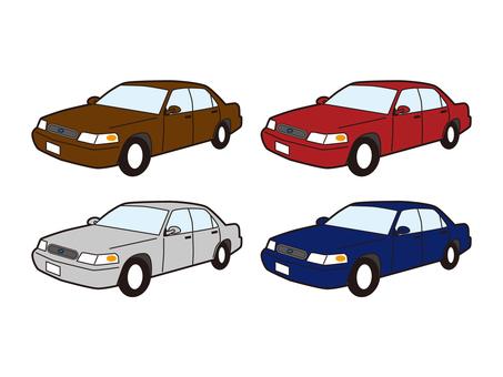 美國車 轎車 轎車 乘用車