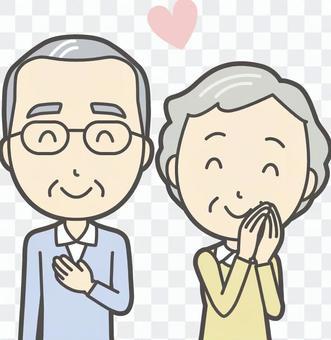 男人和女人設置老人-023胸圍
