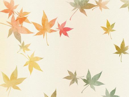 秋天的顏色背景設置版本03