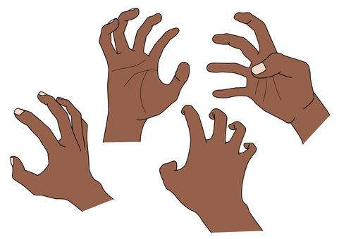 手部材質 12 強力手抓不同顏色