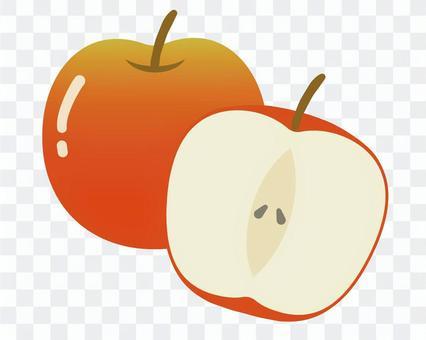 蘋果卡通1