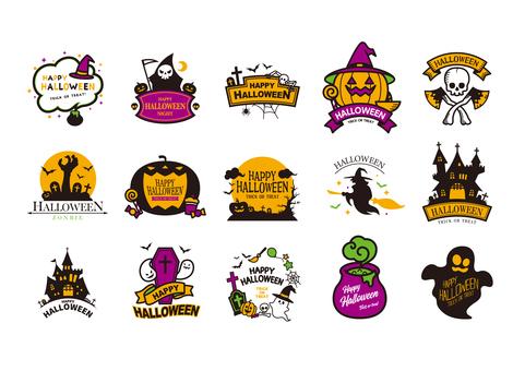 Halloween mark 2-color