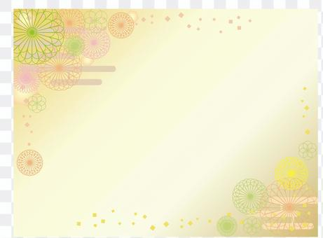Japanese paper _ flower pattern 6