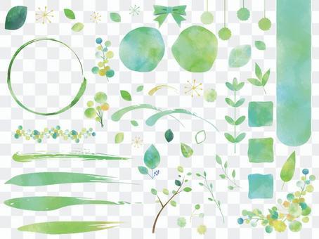 New green set ver 02