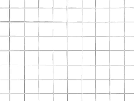 白色瓷磚背景