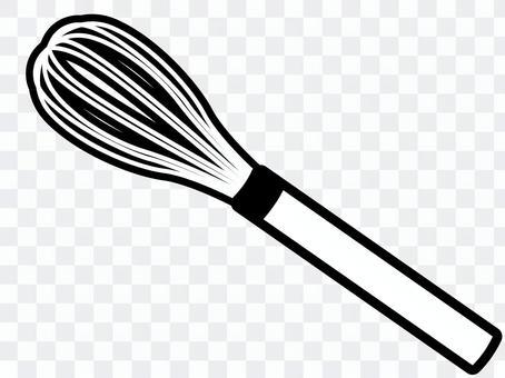 掃:炊具(黑色和白色)