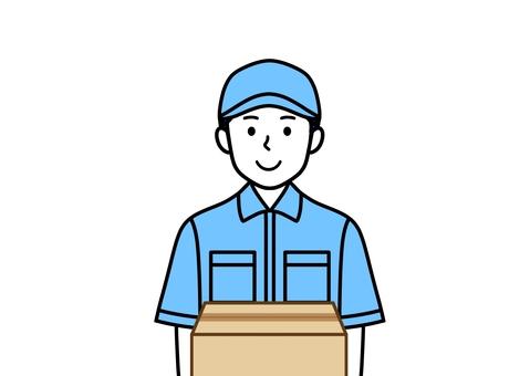 紙板搬運人送貨運輸