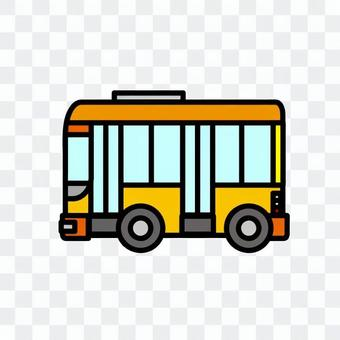 一辆汽车(工作车:公共汽车)