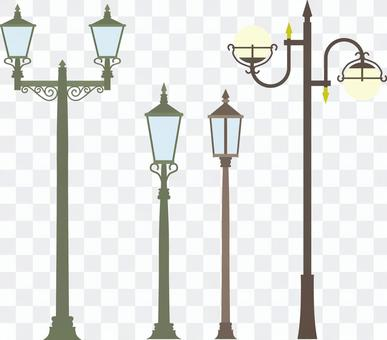 Several street lights