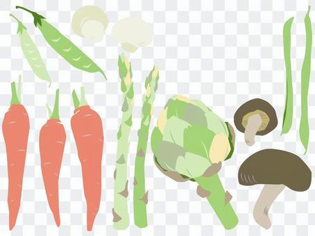 春季蔬菜套裝2
