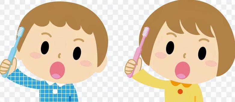 Tooth paste boys girls