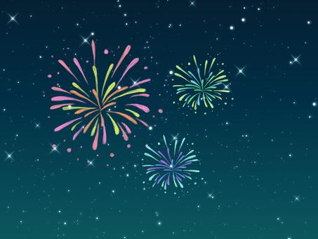 Cute fireworks